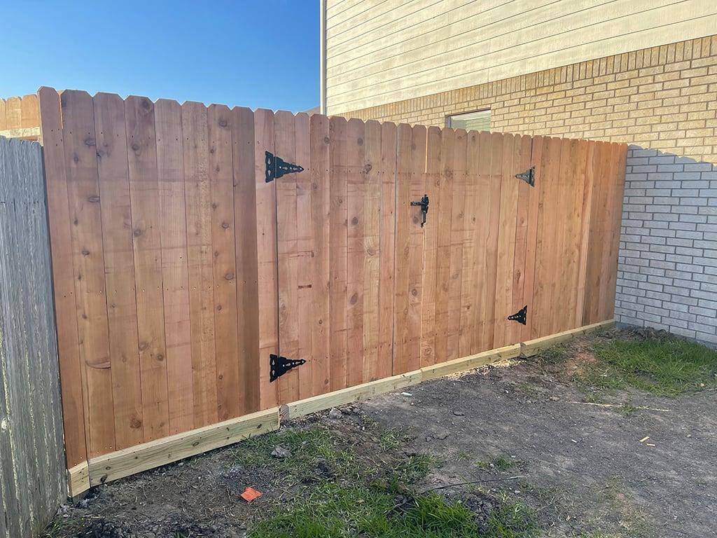 Cedar-Double-Swing-Gate-Front