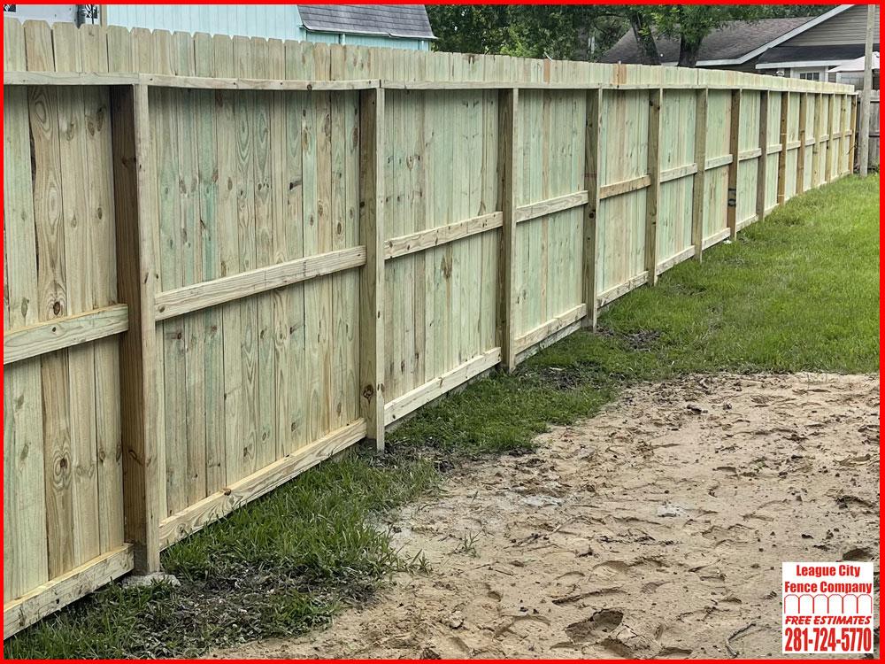 Pine Fence League City Fence Company